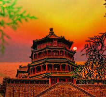 Summer Palace. Kunming Lake. Beijing. China by vadim19