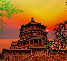 Summer Palace. Kunming Lake. Beijing. China by vadim19