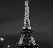 Eiffel at Night by Lola J