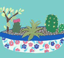 Bowl of Cacti by CreativeLore