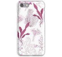 purple flora iPhone Case/Skin