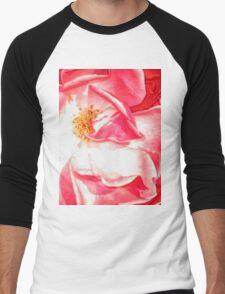 Silky Rose Men's Baseball ¾ T-Shirt