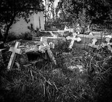 Derelict Crosses by Dave Hare