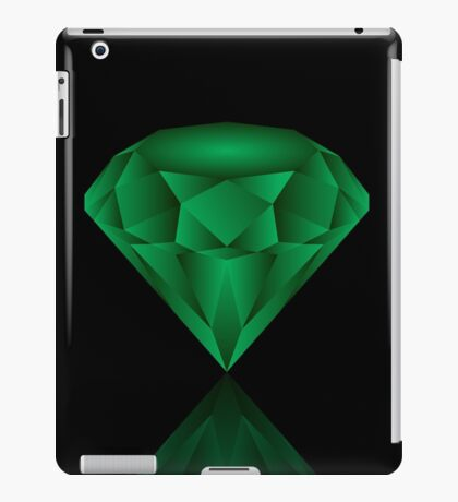Emerald. iPad Case/Skin