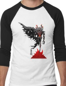 The Game of Kings, Wave Four: The Black Queen's Bishop Men's Baseball ¾ T-Shirt