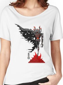 The Game of Kings, Wave Four: The Black Queen's Bishop Women's Relaxed Fit T-Shirt
