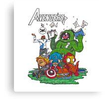 Avengers baby Canvas Print
