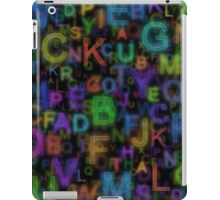 Alphabet colours iPad Case/Skin