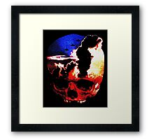 in my mind there's no sorrow Framed Print