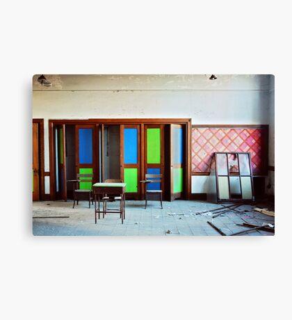 Vibrant Decay Canvas Print