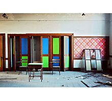Vibrant Decay Photographic Print