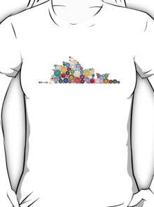 Opera House Button T-shirt T-Shirt