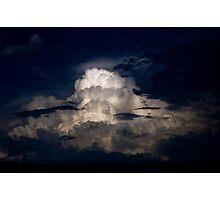 Dark Cumulonimbus  Photographic Print