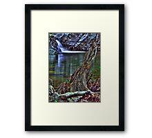 Shan creek swimming hole Framed Print