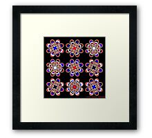 Leather Pride Foot Flowers Framed Print