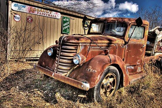 OLD TRUCK by Diane Peresie