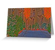 Birgu Greeting Card