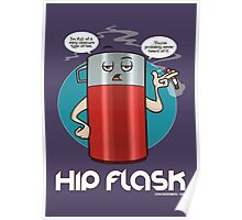 Hip Flask Poster