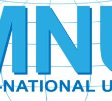Multi National United Sticker