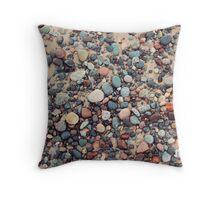 Lake Superior Colors Throw Pillow