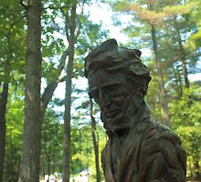 Henry David Thoreau statue by AntonLee