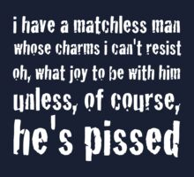 Matchless Man by Ron Marton