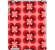Retro abstract floral design iPad Case/Skin