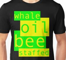 Whale Oil - Green & Yellow Unisex T-Shirt