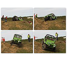 Jeep Actions Photographic Print