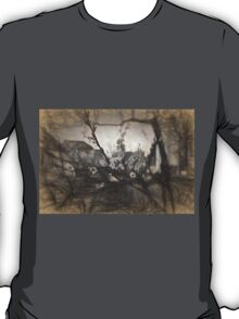 Cherry blossom impression T-Shirt