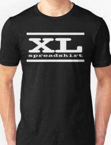 XL Spreadshirt - White Lettering T-Shirt