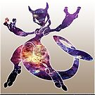 Mewtwo Galaxy by StuffHobo
