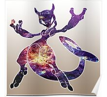 Mewtwo Galaxy Poster