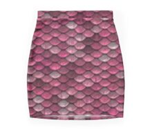 Pink Scale Mini Skirt