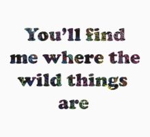Wild Things  Kids Clothes