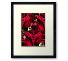 The Fantastical Fractal Fan Dance Framed Print