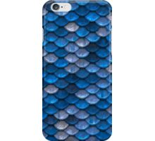 Blue Scale iPhone Case/Skin