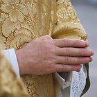 Priest's Hands Praying by gfairbairn