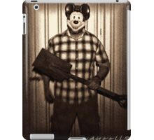 Cheap Mickey mask.. iPad Case/Skin
