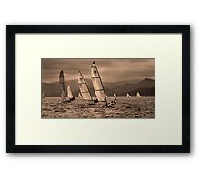 Half Way There Framed Print