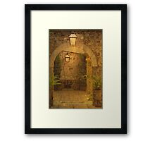 The Hall Framed Print