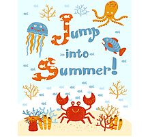 Jump into summer! Photographic Print