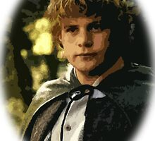 Samwise the Brave Cutout Print Design by MintyBadger123