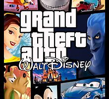 Grand Theft Auto Disney  by Nightfrost4