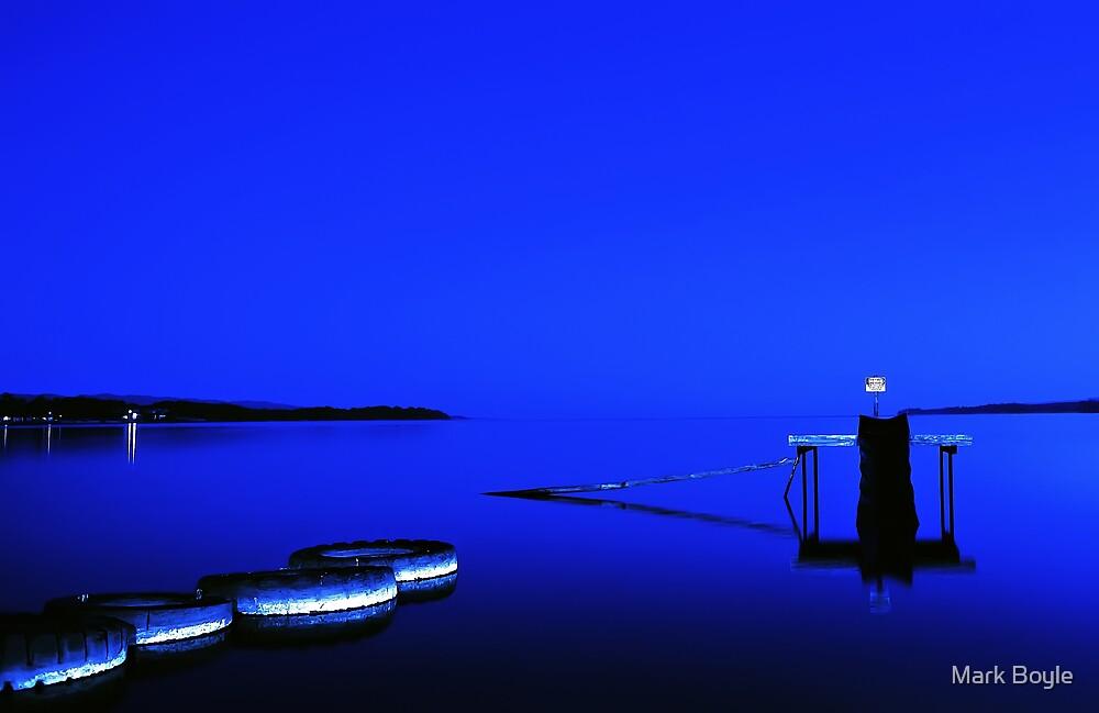 Blue Slide by Mark Boyle