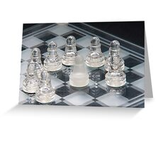 Chess Surrounded Greeting Card