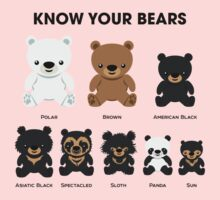 Know Your Bears One Piece - Long Sleeve