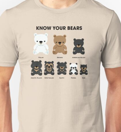 Know Your Bears Unisex T-Shirt
