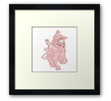 Child With Rattle Framed Print