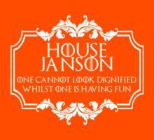 House Janson (white text) by houseorgana